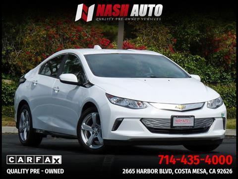 2017 Chevrolet Volt for sale in Costa Mesa, CA