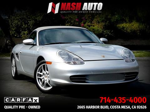 2004 Porsche Boxster for sale in Costa Mesa, CA