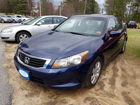 2009 Honda Accord for sale in Poland, ME