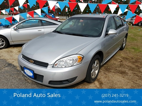 2011 Chevrolet Impala for sale in Poland, ME