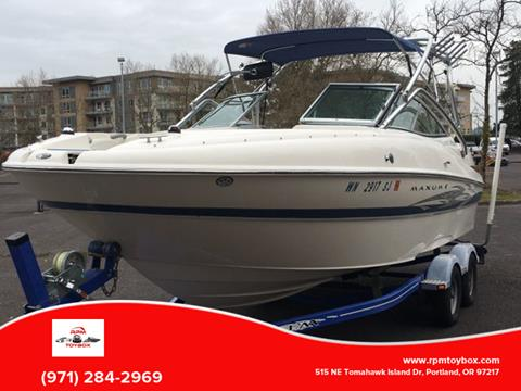 2006 Maxum 2100 SD for sale in Portland, OR