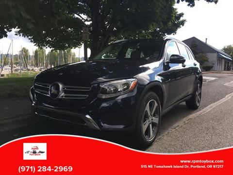 Mercedes Benz Of Portland >> 2016 Mercedes Benz Glc For Sale In Portland Or