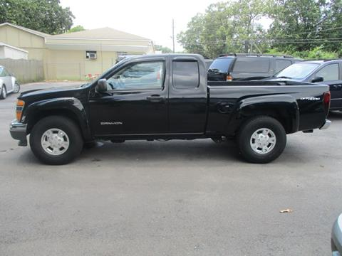 2005 GMC Canyon for sale in Mount Olive, AL