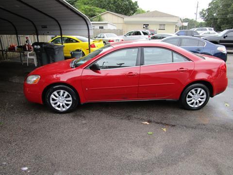 2007 Pontiac G6 for sale in Mount Olive, AL