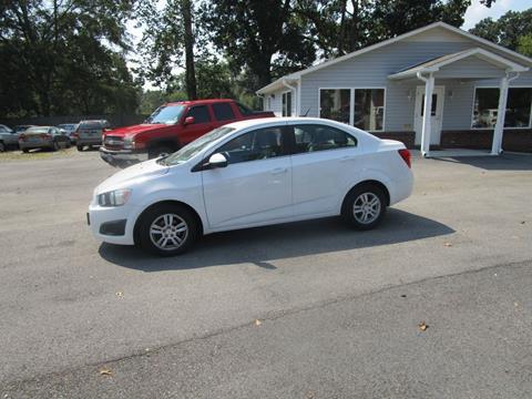 2012 Chevrolet Sonic for sale in Mount Olive, AL