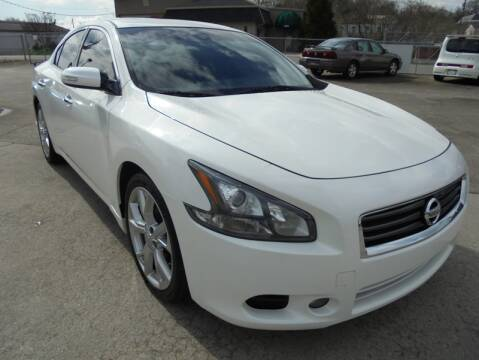 2012 Nissan Maxima for sale at PIONEER AUTO SALES LLC in Cleveland TN