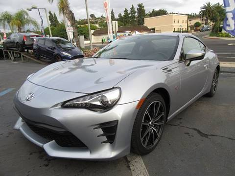 Used Toyota For Sale >> 2017 Toyota 86 For Sale In La Mesa Ca