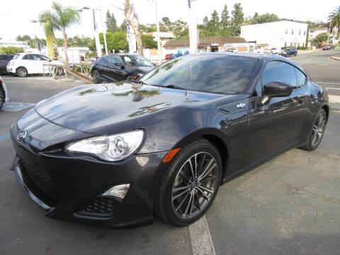 2016 Scion FR-S for sale at Eagle Auto in La Mesa CA