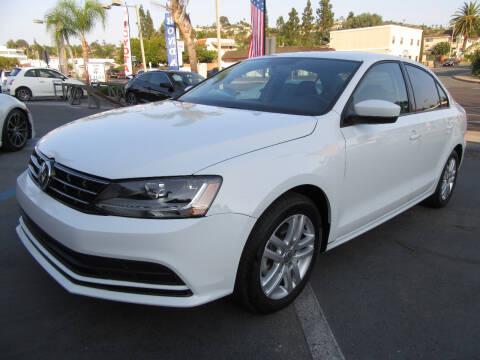 2018 Volkswagen Jetta for sale at Eagle Auto in La Mesa CA