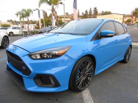 2016 Ford Focus for sale at Eagle Auto in La Mesa CA