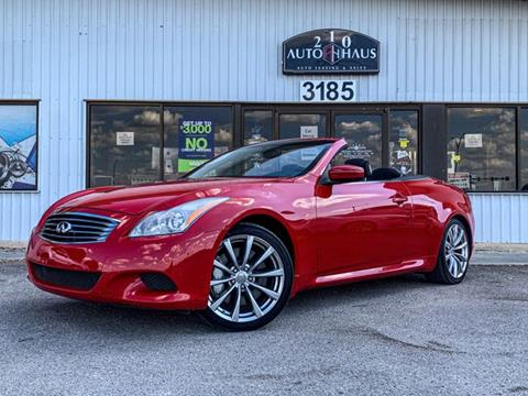 2010 Infiniti G37 Convertible for sale in New Braunfels, TX
