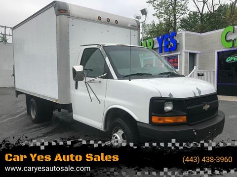 Used Trucks For Sale In Md >> 2004 Chevrolet Express Cutaway For Sale In Baltimore Md