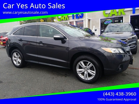 2015 Acura Rdx For Sale >> Acura Rdx For Sale In Baltimore Md Car Yes Auto Sales