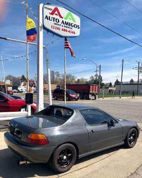 1993 Honda Civic del Sol for sale in Waukegan, IL