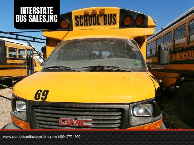 2003 GMC Thomas for sale at Global Bus Sales & Rentals in Alice TX