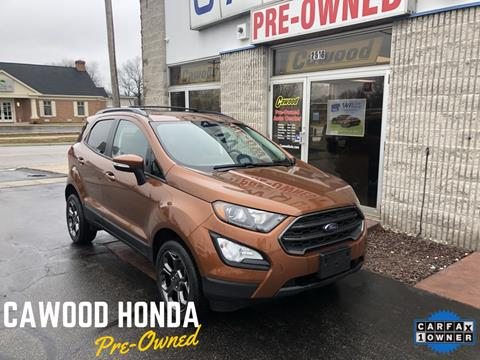 2018 Ford EcoSport for sale in Port Huron, MI
