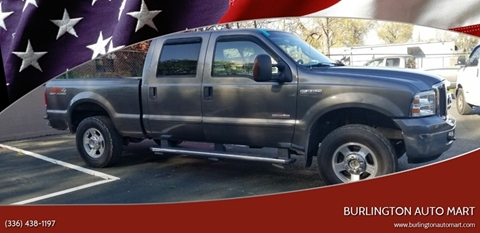 2005 Ford F-250 Super Duty for sale at Burlington Auto Mart in Burlington NC