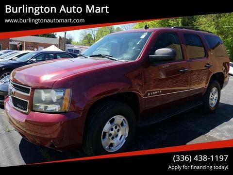 2009 Chevrolet Tahoe for sale at Burlington Auto Mart in Burlington NC