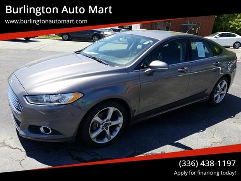 2013 Ford Fusion for sale at Burlington Auto Mart in Burlington NC