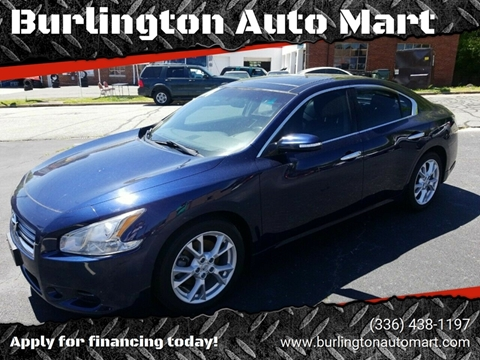2014 Nissan Maxima for sale at Burlington Auto Mart in Burlington NC