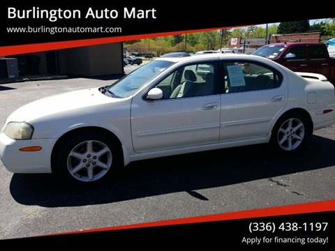 2003 Nissan Maxima for sale at Burlington Auto Mart in Burlington NC