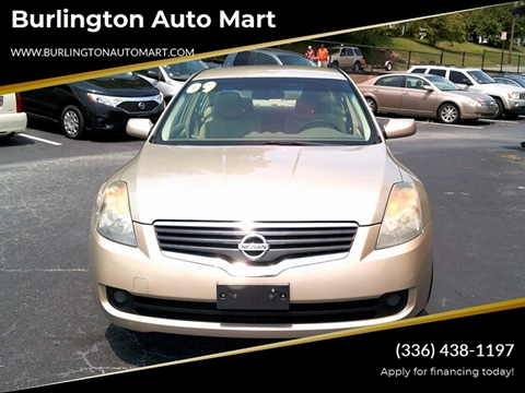 2009 Nissan Altima for sale at Burlington Auto Mart in Burlington NC