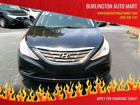 2013 Hyundai Sonata for sale at Burlington Auto Mart in Burlington NC
