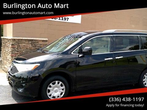 2012 Nissan Quest for sale at Burlington Auto Mart in Burlington NC