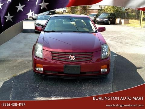 2007 Cadillac CTS for sale at Burlington Auto Mart in Burlington NC