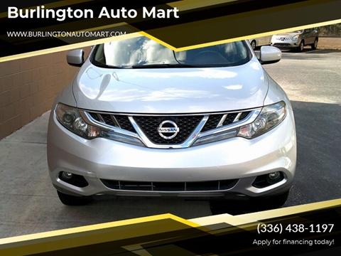 2013 Nissan Murano for sale at Burlington Auto Mart in Burlington NC