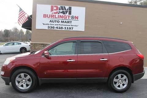 2010 Chevrolet Traverse for sale at Burlington Auto Mart in Burlington NC