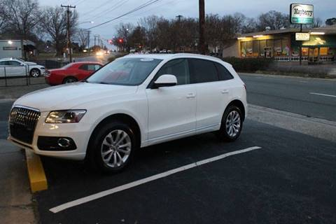 2013 Audi Q5 for sale at Burlington Auto Mart in Burlington NC