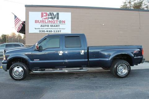 2007 Ford F-350 Super Duty for sale at Burlington Auto Mart in Burlington NC