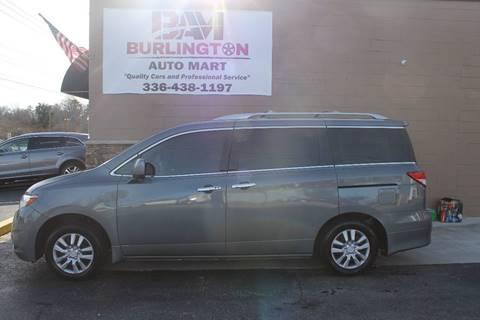 2014 Nissan Quest for sale at Burlington Auto Mart in Burlington NC