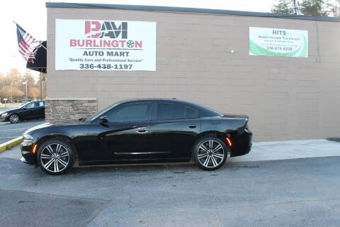 2015 Dodge Charger for sale at Burlington Auto Mart in Burlington NC