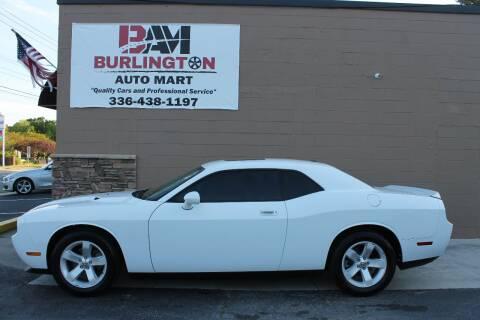 2010 Dodge Challenger for sale at Burlington Auto Mart in Burlington NC