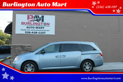 2011 Honda Odyssey for sale at Burlington Auto Mart in Burlington NC
