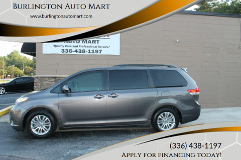 2012 Toyota Sienna for sale at Burlington Auto Mart in Burlington NC