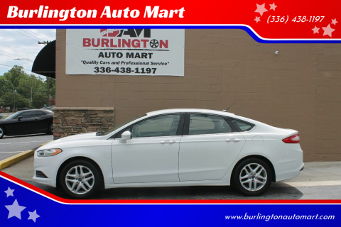 2014 Ford Fusion for sale at Burlington Auto Mart in Burlington NC