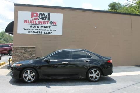 2013 Acura TSX for sale at Burlington Auto Mart in Burlington NC