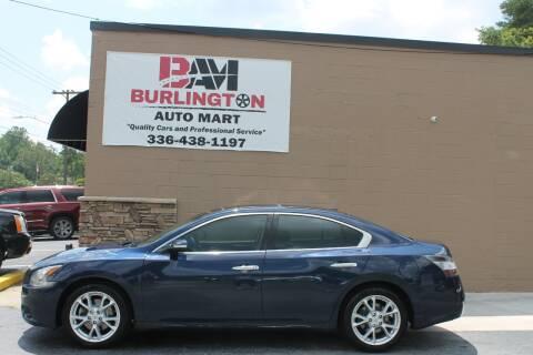 2014 Nissan Maxima for sale at Burlington Auto Mart in Burlington NC
