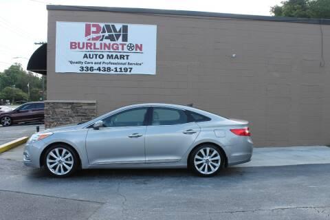 2013 Hyundai Azera for sale at Burlington Auto Mart in Burlington NC