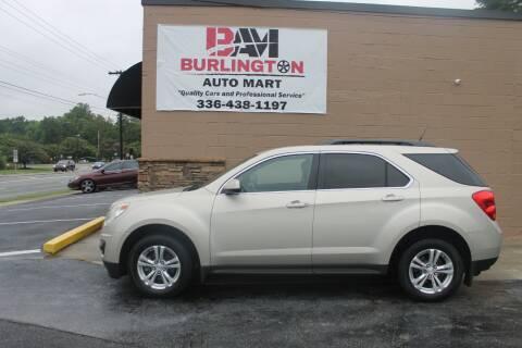 2013 Chevrolet Equinox for sale at Burlington Auto Mart in Burlington NC