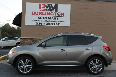2009 Nissan Murano for sale at Burlington Auto Mart in Burlington NC