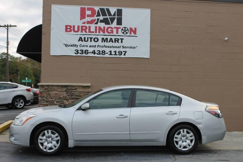 2012 Nissan Altima for sale at Burlington Auto Mart in Burlington NC