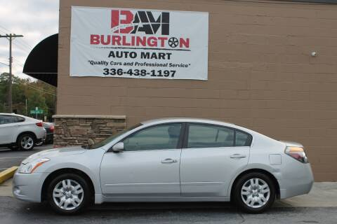 2012 Nissan Altima for sale at Burlington Auto Mart in Burlington NC