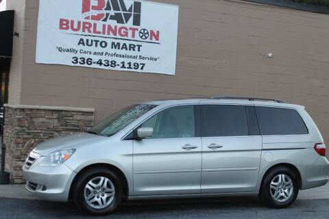 2006 Honda Odyssey for sale at Burlington Auto Mart in Burlington NC