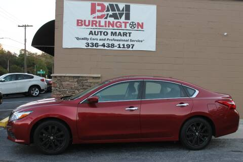 2017 Nissan Altima for sale at Burlington Auto Mart in Burlington NC