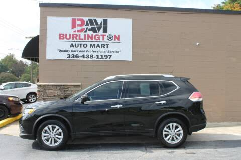 2015 Nissan Rogue for sale at Burlington Auto Mart in Burlington NC