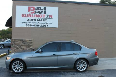 2011 BMW 3 Series for sale at Burlington Auto Mart in Burlington NC